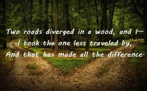 two roads robert frost
